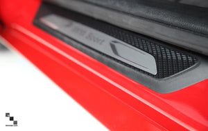 Carbon Fiber Vinyl Door Sills for BMW F30/F31 3 Series