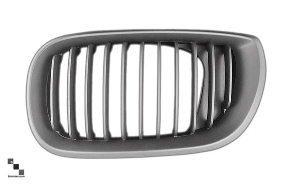 Black Kidney Grilles for BMW E46 3 Series Coupe and Convertible (LCI)