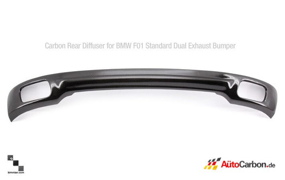 Carbon Fiber Rear Diffuser for BMW F01/F02/F04 7 Series