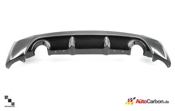 Carbon Fiber Rear Diffuser for BMW F87 M2