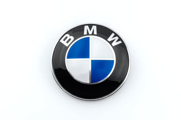 Matte Colored Roundel Emblem Overlays