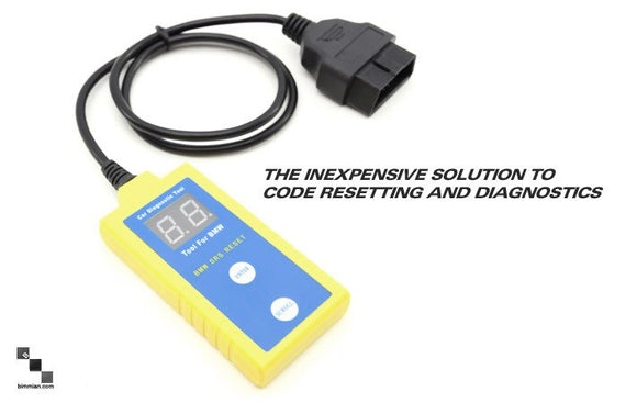 SRS (Airbag) Code Reader + Reset Tool (YELLOW)