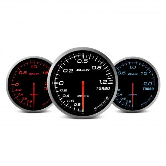 Defi Advance BF Series (Metric) 60mm water temp gauge – blue