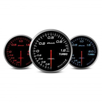 Defi Advance BF Series (Metric) 60mm exhaust temp gauge – red