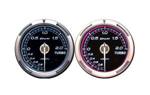 Defi Advance C2 Series 60mm oil temp gauge – blue