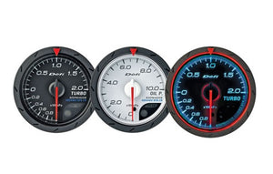 Defi Advance CR Series 60mm oil temp gauge – white