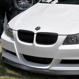 Black Kidney Grilles for BMW E90 3 Series (Pre-LCI)
