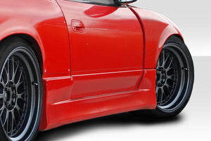 Duraflex K Power Style Front Fenders for 1989-1994 Nissan 240sx S13 HB