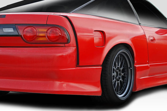Duraflex K Power Style Rear Fenders for 1989-1994 Nissan 240sx S13 HB
