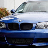 Black Kidney Grilles for BMW E82/E88 1 Series