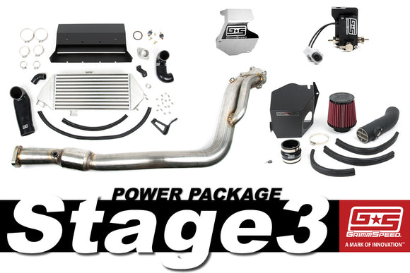 GrimmSpeed Stage 3 Power Package – 08-14 Subaru WRX