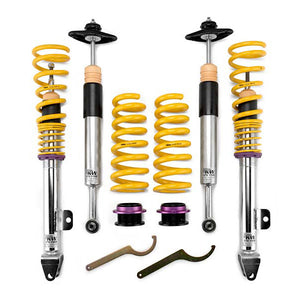 KW Street Comfort Coilovers – Audi TT (TTC TTR) Coupe + Roadster; FWD