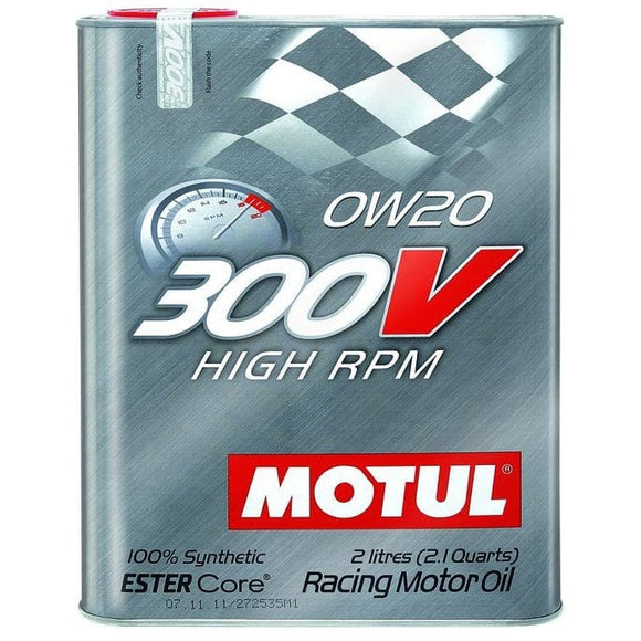 Motul 300V High RPM 0W20 | 2L