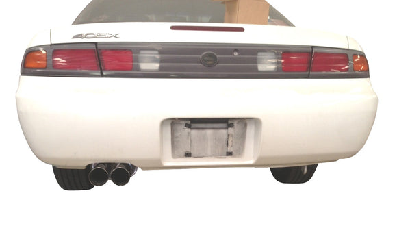 ISR Performance MB SE Type -E Dual Tip Exhaust Nissan 240sx 95-98 S14