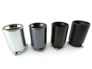 Stainless Exhaust Tips for any BMW (Pair)