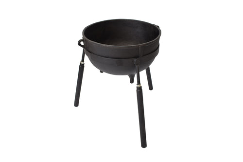 Cast Iron 7-gallon Jambalaya Pot with Stand 7407
