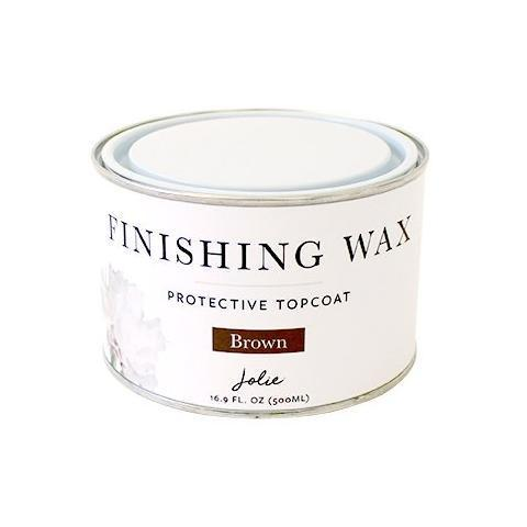 Jolie Finishing Wax | Brown - Tynt Paint Studio