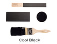 Fusion Coal Black color sample TYNT Paint Studio