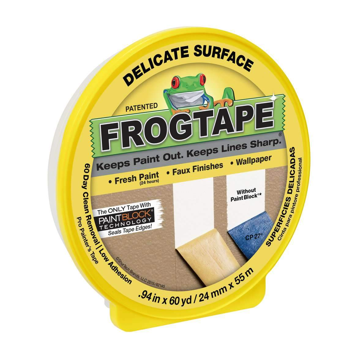 Frog Tape - Delicate Surface Painter's Tape - Tynt Paint Studio