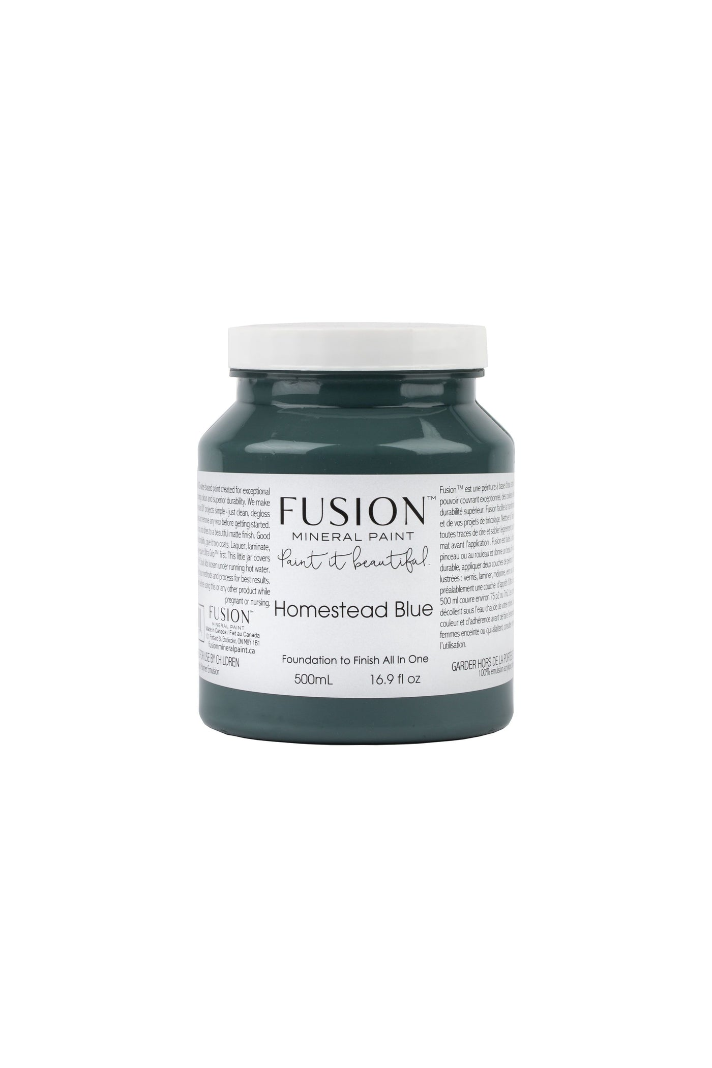 Fusion Mineral Paint - HOMESTEAD BLUE Pint