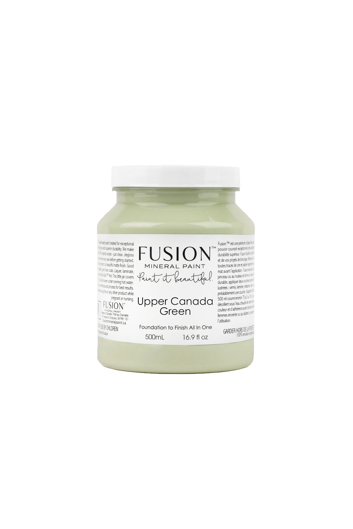 Fusion Mineral Paint - UPPER CANADA GREEN - LIMITED EDITION Tester