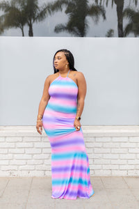 No Shade Halter Maxi