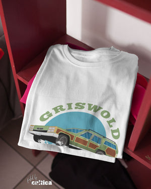 "Kult T-Shirt ""The Griswold Family Car"" weiß"