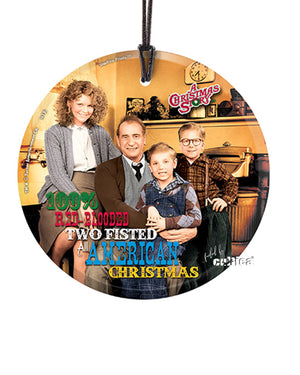 "Christmas Story Ornament ""The Family Shooting"""