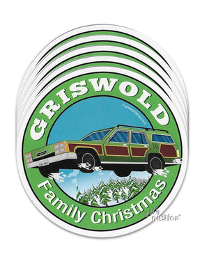 Aufkleber The Griswold Car 5er Pack - griswoldshop