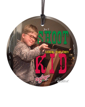 "Christmas Story Ornament ""Shoot Your Eye Out"" - griswoldshop"