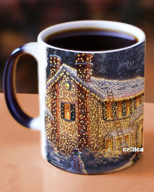 Christmas Vacation Kaffeetasse Magic ART House - griswoldshop