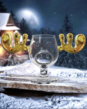 Elchglas GOLD (Glas) Moose Mug Christmas Vacation - griswoldshop