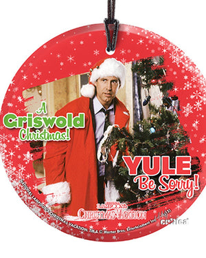 Griswold Glas Ornament Yule Be Sorry - griswoldshop