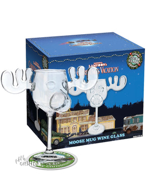 Moose Mug Weinglas (Glas) Christmas Vacation - griswoldshop