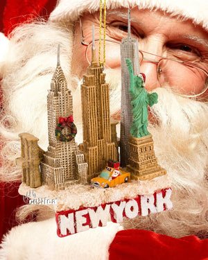 New York Christmas Ornament City Skyline - griswoldshop