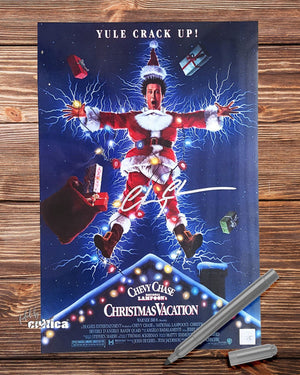 "Original Autogramm A05 ""Chevy Chase Movie Poster..."" - griswoldshop"
