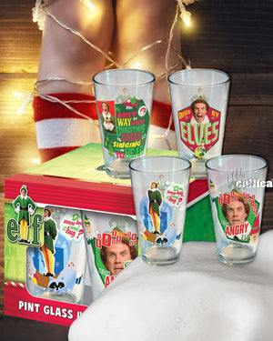 Original Elf Trinkgläser 4er Set - griswoldshop
