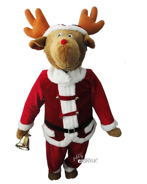 The Singing Karaoke Reindeer - griswoldshop