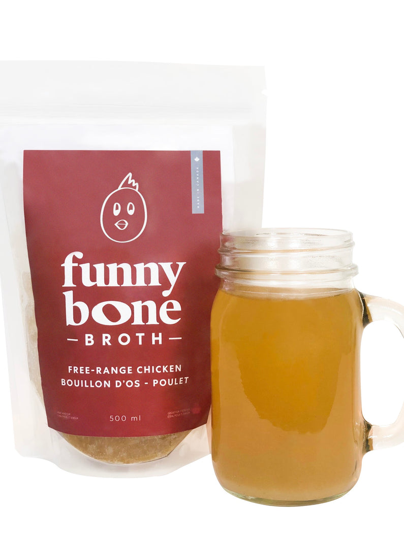 Free-Range Chicken Bone Broth