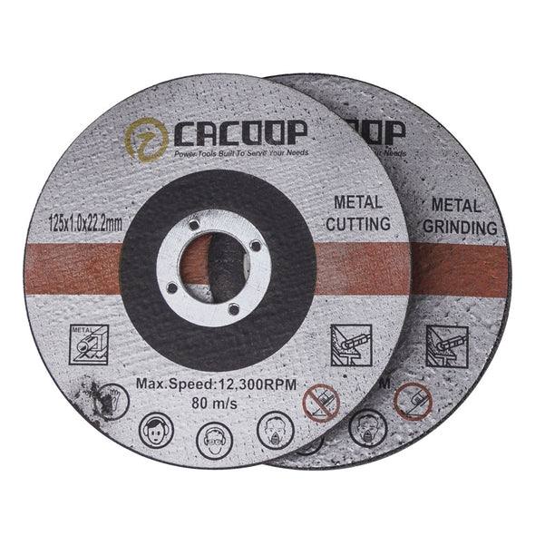 CACOOP 20V MAX Cordless 5 in. Angle Grinder