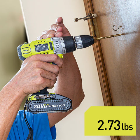 CACOOP Cordless Drill Driver 20V