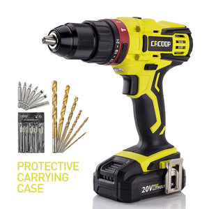 Cordless Hammer Drill driver and screwdriver accessories 20V - CACOOP