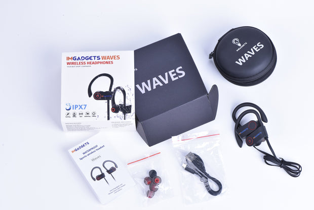 IMGadgets Wireless , Waterproof In-Ear Headphones and Case