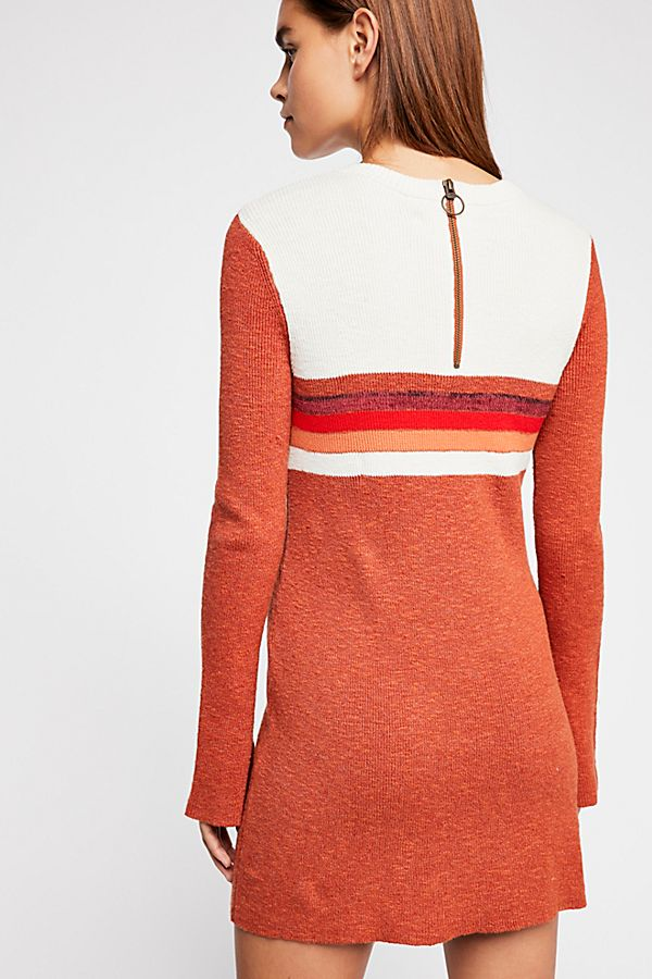 Free People Dress Colorblock
