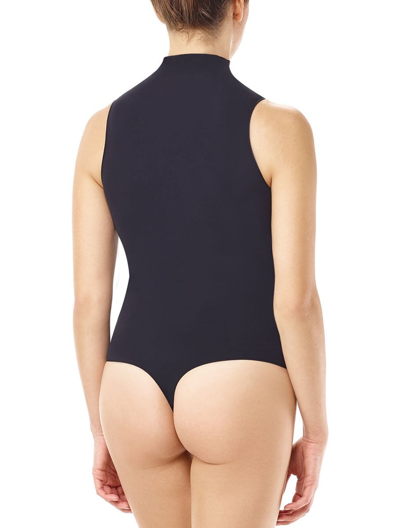 Commando Ballet Mockneck Sleeveless Bodysuit