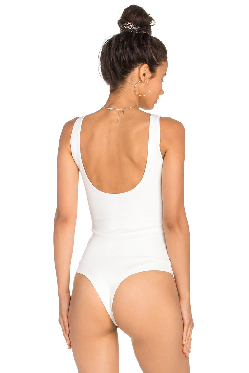 Scoop Back Cami Bodysuit