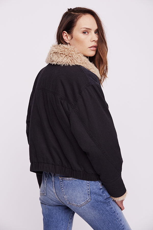 Free People Owen Sherpa Jacket