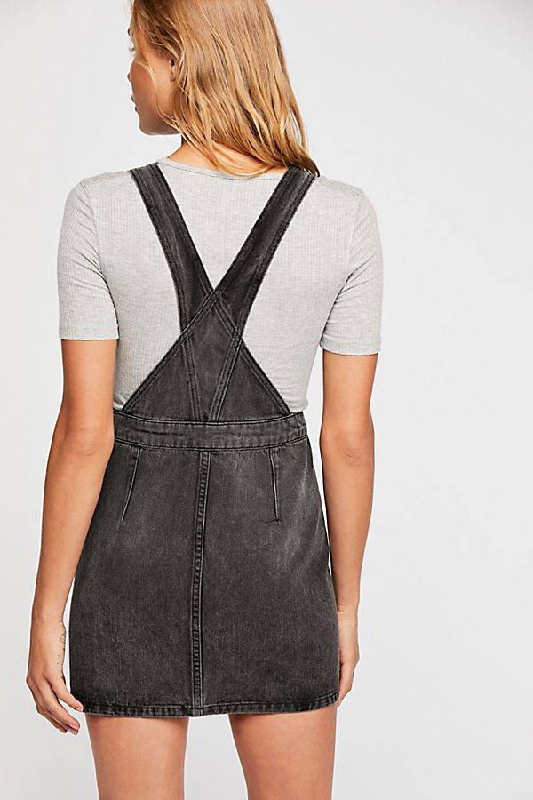 Free People Louise Denim Skirtall