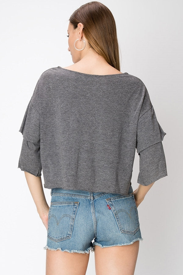 Layered Long Sleeve Top