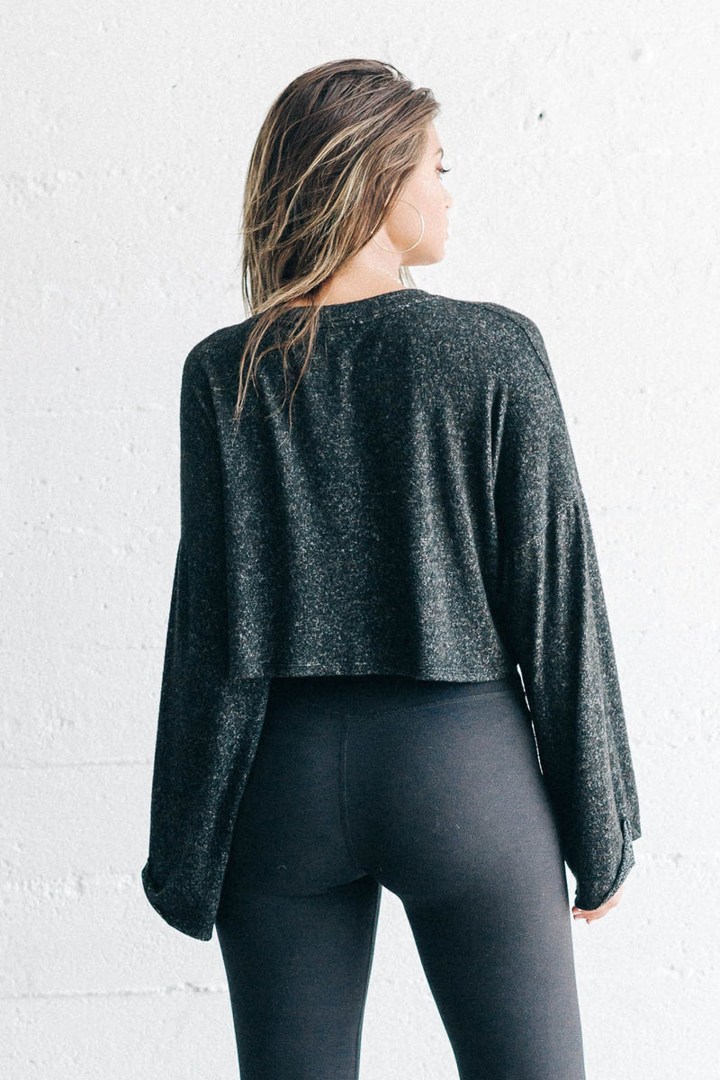 Joah Brown Paris Crop Long Sleeve